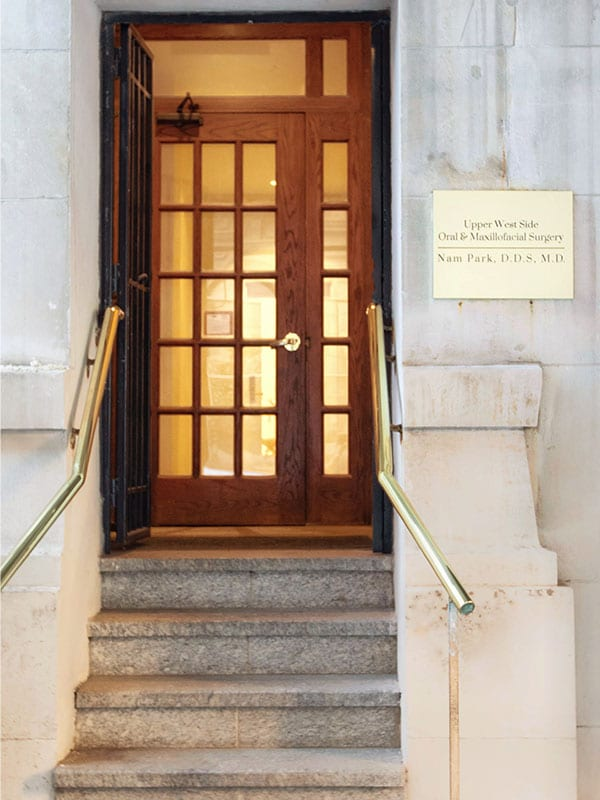 street view of entrance to Upper West Side Oral & Maxillofacial Surgery