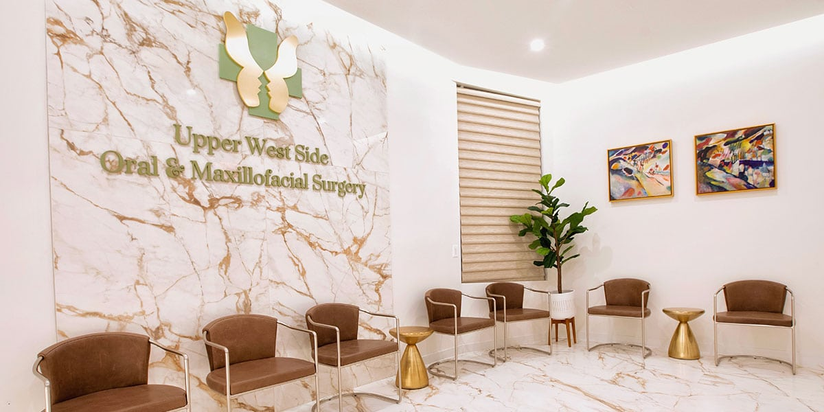 lobby of Upper West Side Oral & Maxillofacial Surgery